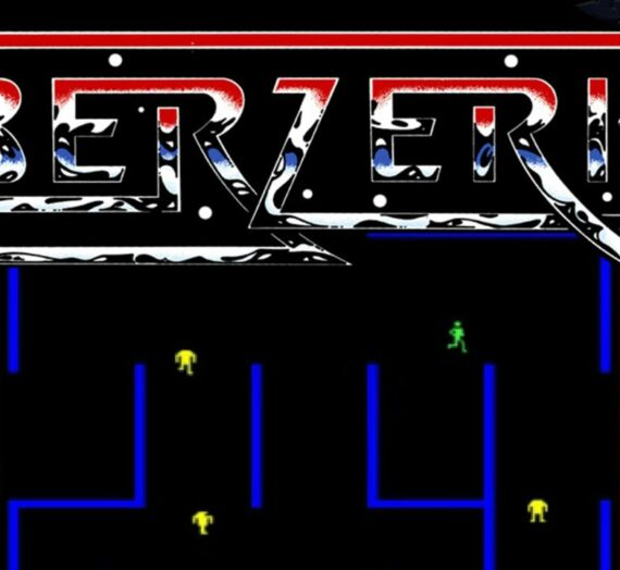 Berzerk (1980 / Arcade, Atari 2600, Atari 5200, GCE Vectrex)